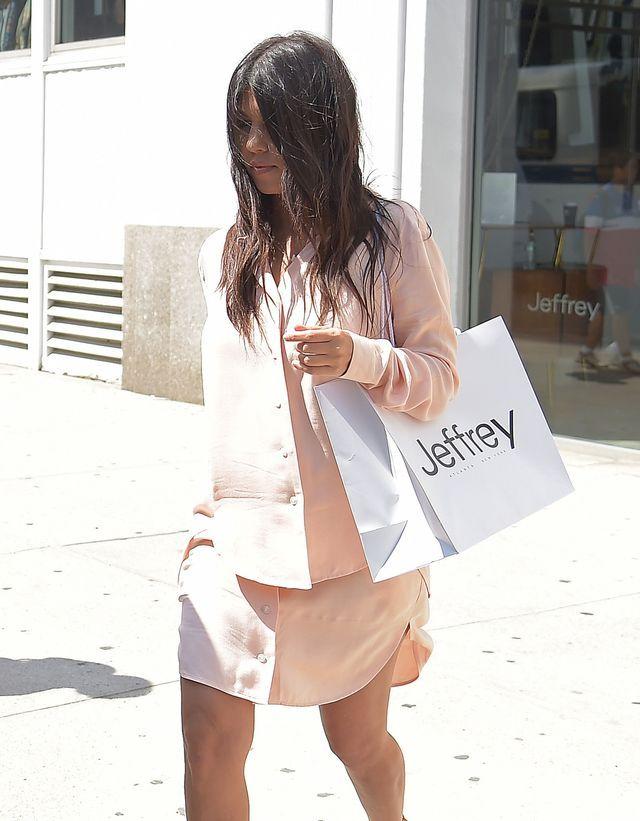 Kim Kardashian znów popłynęła... (FOTO)