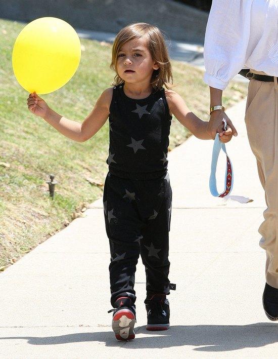 Kourtney Kardashian z dzieciakami (FOTO)
