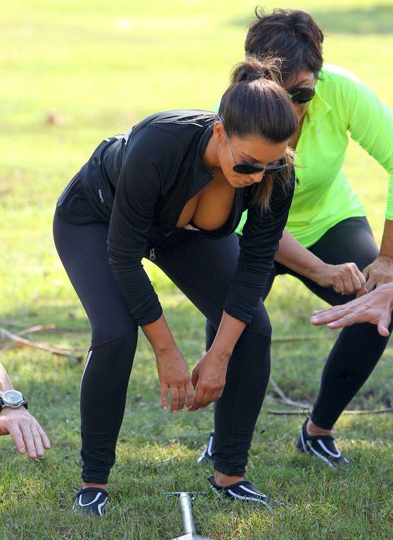 Kardashianowie trenują z wiosłami (FOTO)