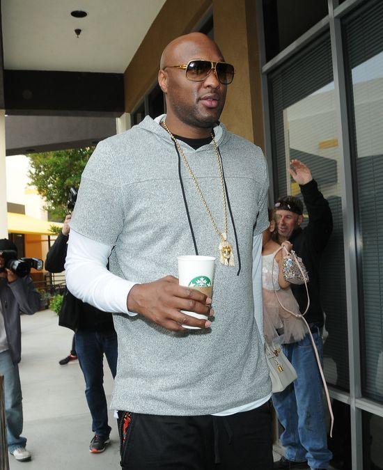 Lamar Odom wyzdrowiał dzięki... Kanye Westowi?!