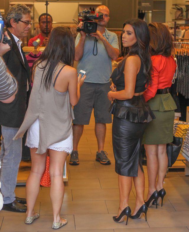 Kim i Kourtney Kardashian na zakupach (FOTO)