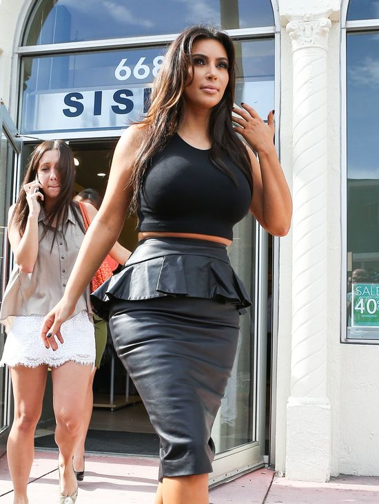Kim Kardashian twierdzi, że nosi rozmiar 38