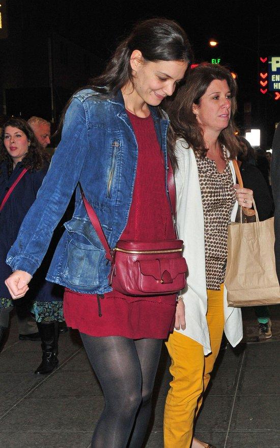 Wieczorne rozrywki Katie Holmes i Suri Cruise (FOTO)
