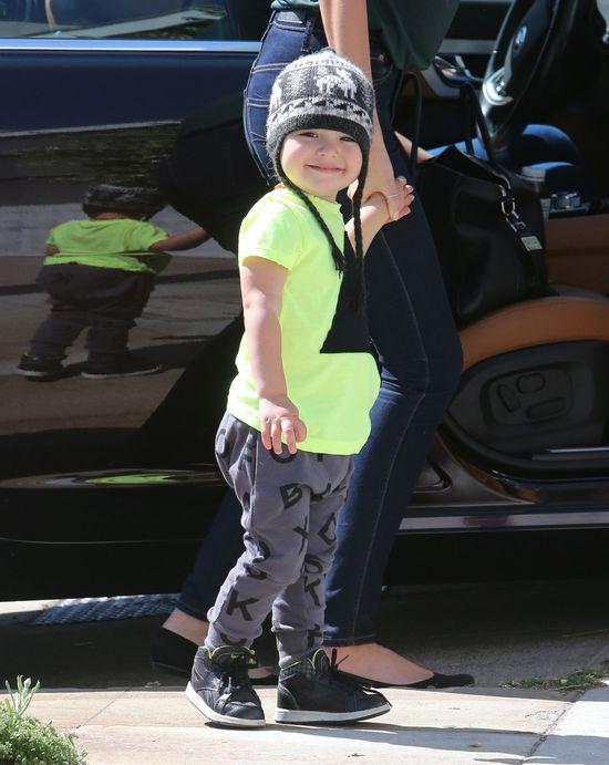 Syn Mirandy Kerr - gwiazdor wi�kszy ni� mama (FOTO)