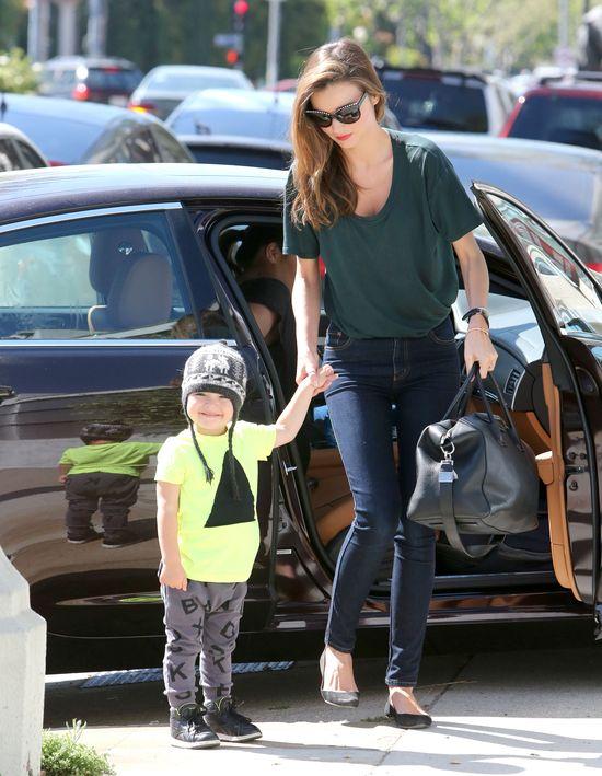 Syn Mirandy Kerr - gwiazdor większy niż mama (FOTO)