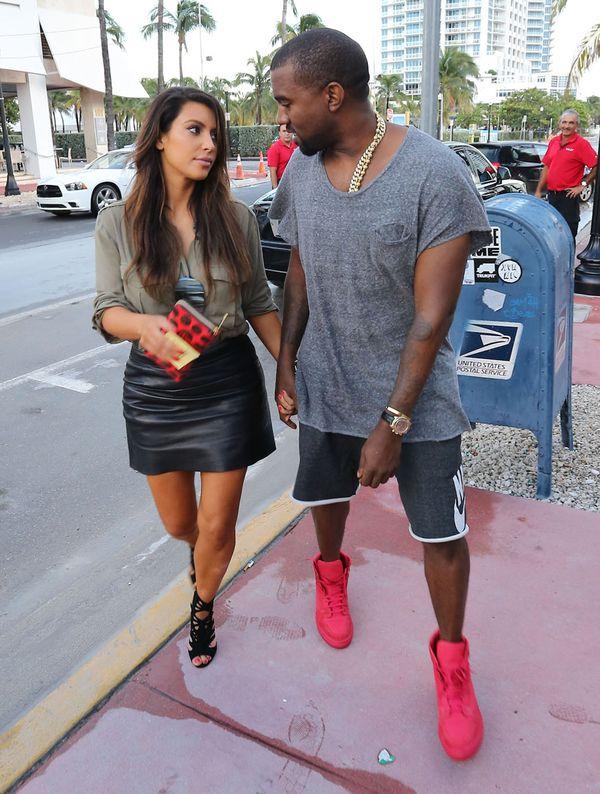 Kanye prawie w ogóle nie spędza czasu z ciężarną Kim!
