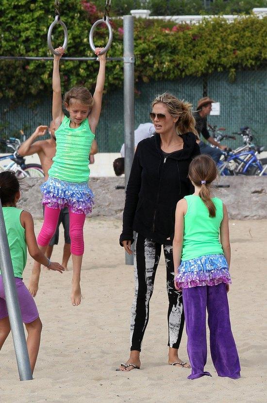 Dzień z życia Heidi Klum (FOTO)