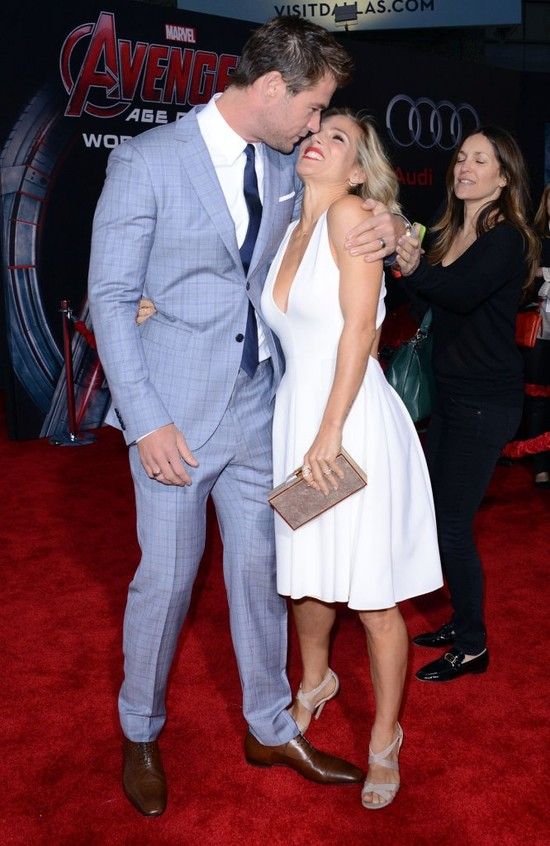 To zdj�cie Chrisa Hemswortha i jego c�reczki roztopi serca