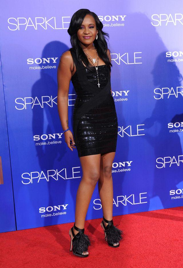 Córka Whitney Houston ma figurę dziecka (FOTO)