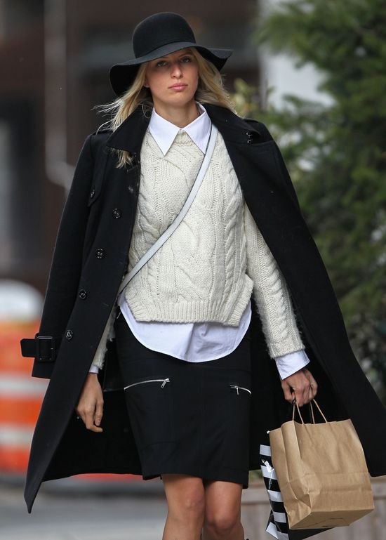 Karolina Kurkova jest modna nie tylko na wybiegu (FOTO)