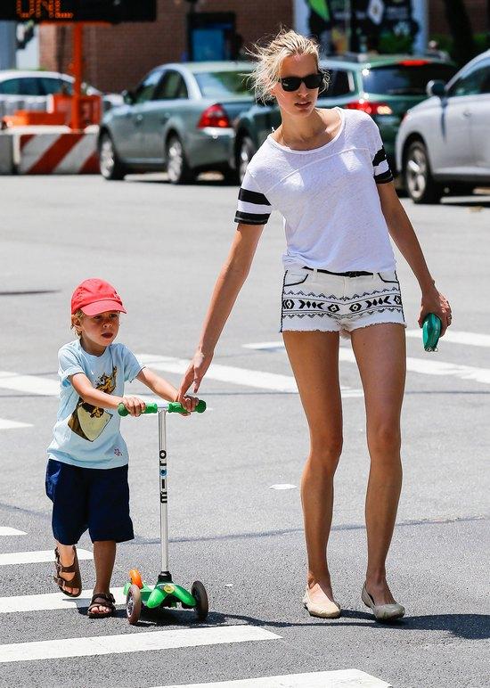 Karolina Kurkova z uroczym synkiem (FOTO)