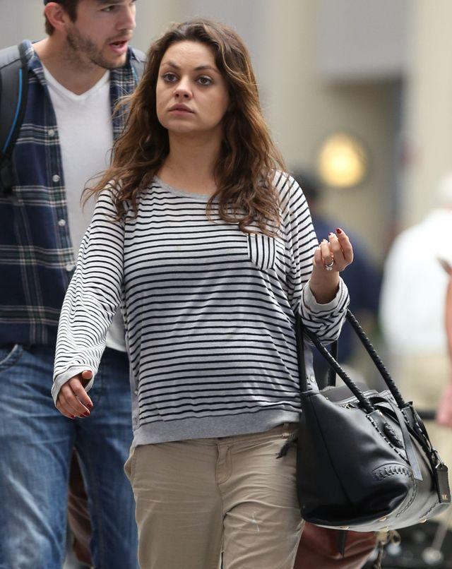 Wiemy, czym zajada si� Mila Kunis w ci��y