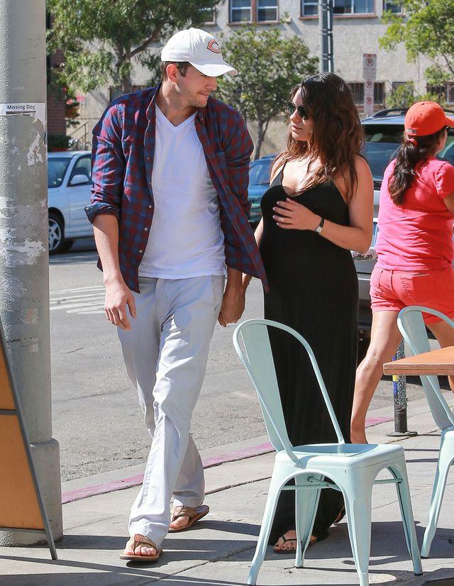 Kunis i Kutcher mają nowe zajęcie przed porodem (FOTO)