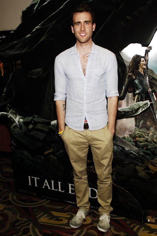 Neville Longbottom z Harry'ego Pottera wyrósł na ciacho FOTO