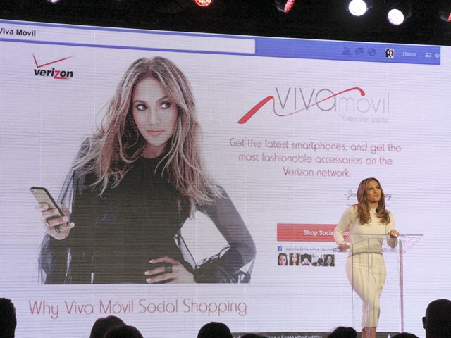 Jennifer Lopez twarzą Viva Movil