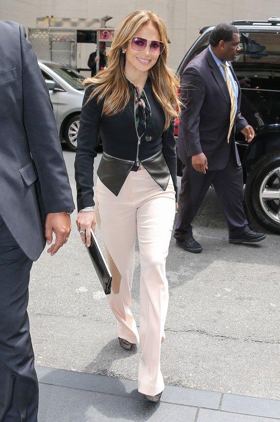 Jennifer Lopez na ulicach Nowego Jorku (FOTO)