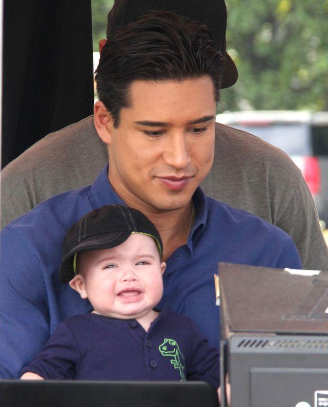 Mario Lopez chciał się pochwalić ślicznym synkiem (FOTO)