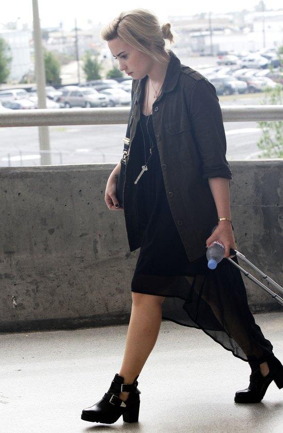 Zdenerwowana Demi Lovato (FOTO)