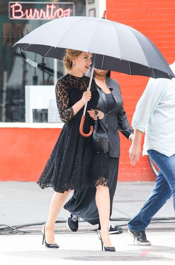 Urocza Scarlett Johansson na planie reklamy D&G (FOTO)