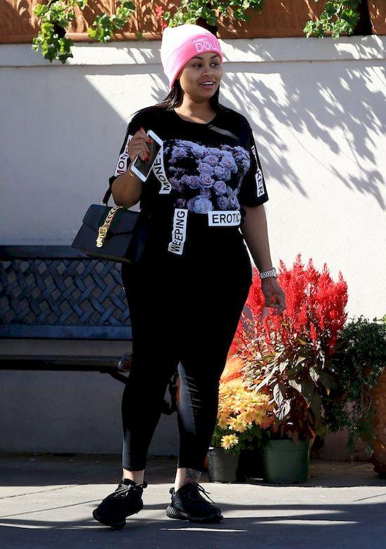 Rob Kardashian groził kochankowi Blac Chyny. Celebrytka nie wytrzymała!
