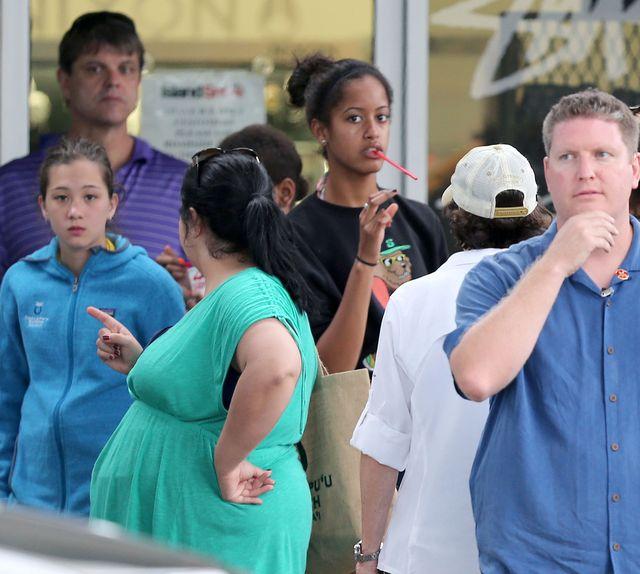 14-letnia Malia Obama już wzbudza zainteresowanie paparazzic