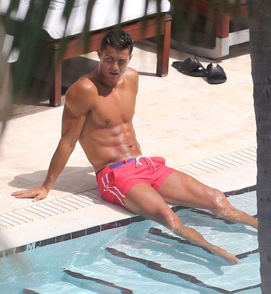 Cristiano Ronaldo spotyka się z była miss Hiszpanii!