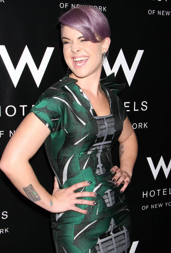 Kelly Osbourne: Nie chcę, żeby moje cycki uderzały o brzuch!