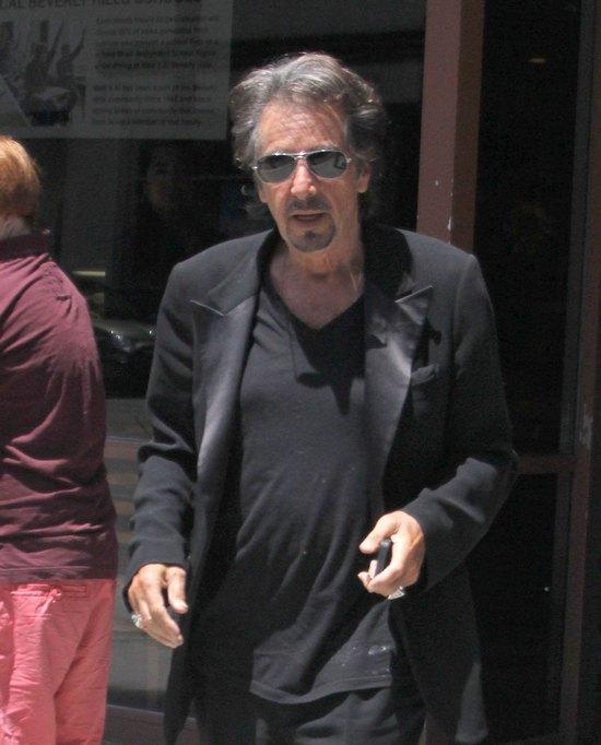 Al Pacino z synem (FOTO)