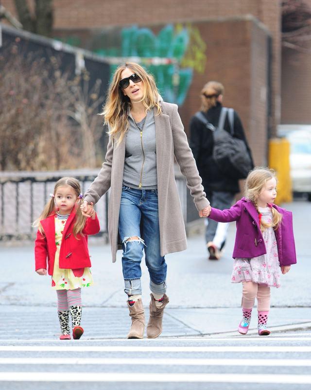Od razu widać, że to córki fashionistki (FOTO)
