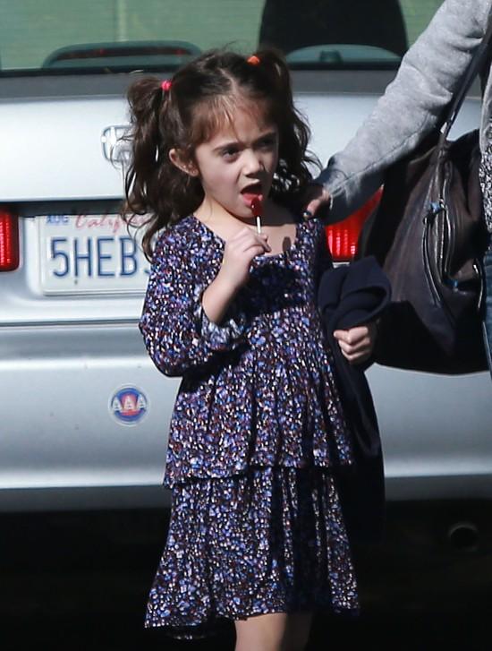 Valentina Pinault (córka Salmy Hayek) ma bogatą mimikę (FOTO