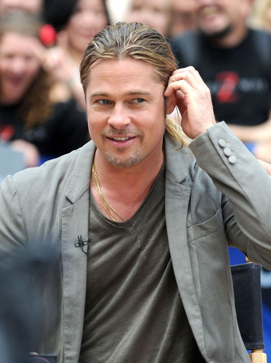 Brad Pitt w Good Morning America (FOTO)