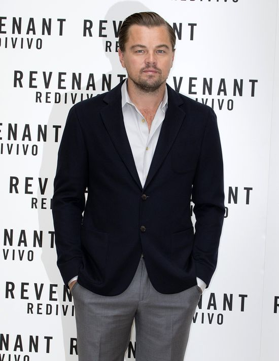 Leonardo DiCaprio zabrał swoją