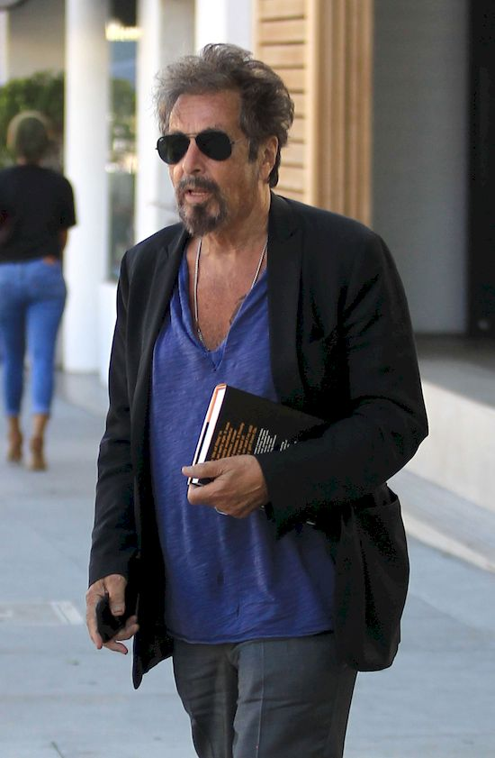 Upojne chwile 77-letniego Al Pacino u boku 38-letniej modelki