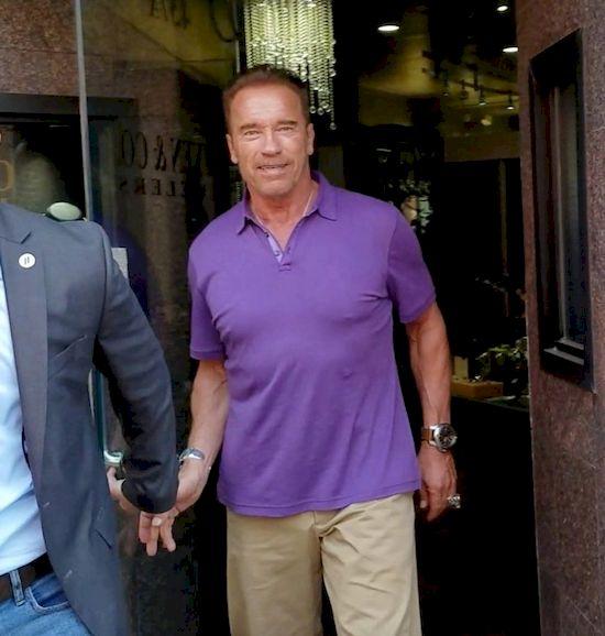 Arnold Schwarzenegger pochwalił się zdjęciem z nieślubnym synem