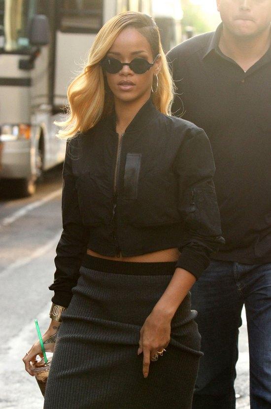 Rihanna za kulisami nowej reklamy piwa (FOTO)
