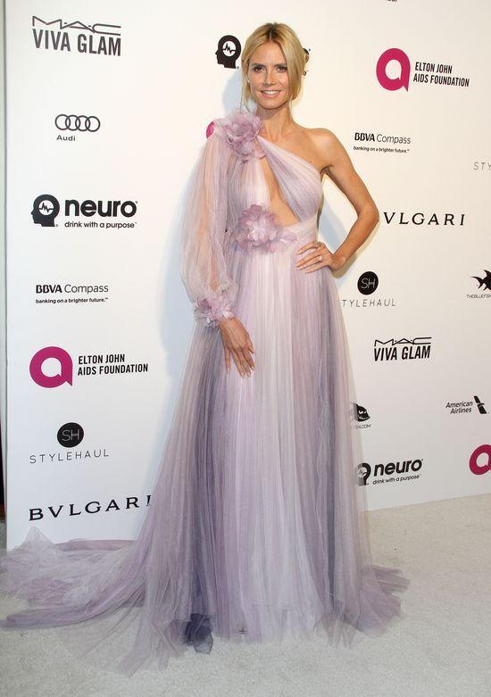 Heidi Klum pochwali�a si� swoj� garderob�. Jest OGROMNA!