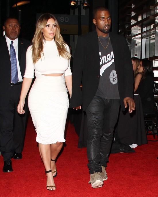 Kim i Kanye byli najgorętszą parą wieczoru (FOTO)