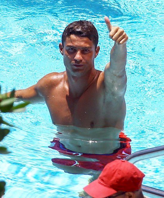 Cristiano Ronaldo spotyka si� z by�a miss Hiszpanii!