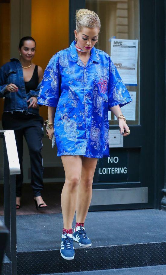 Rita Ora zapomniała spodni?! (FOTO)
