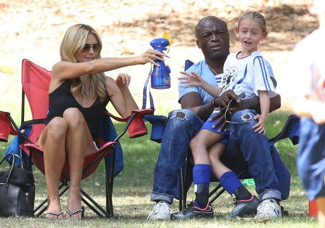 Heidi Klum i Seal pozostają w NADER dobrych stosunkach FOTO