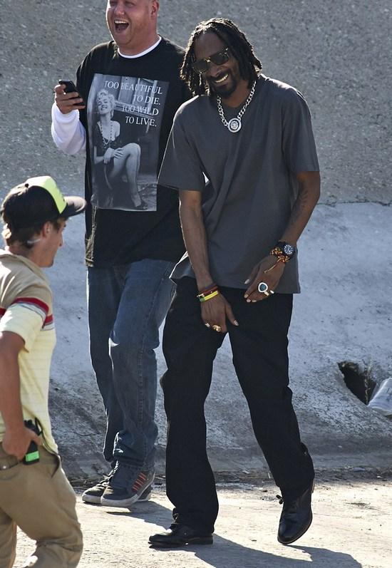 Snoop Lion na planie nowego teledysku (FOTO)