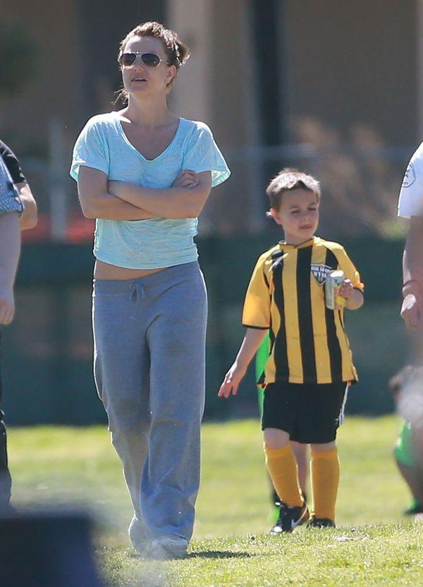 Britney Spears kipi energią (FOTO)
