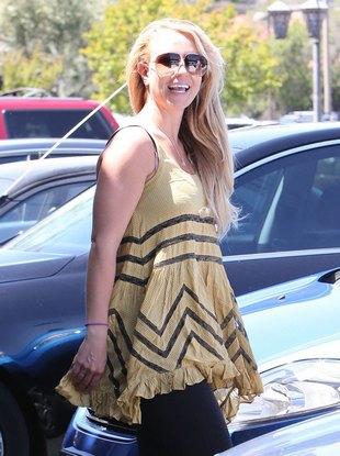 Britney Spears nie przejmuje się swoim wyglądem (FOTO)