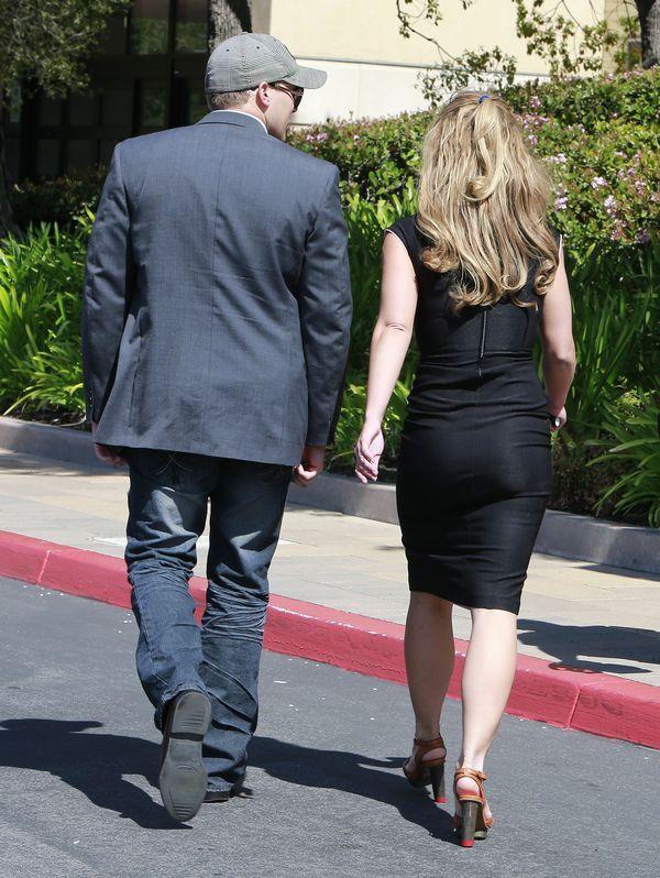 Britney Spears z Davidem Lucado trzymają się za ręce (FOTO)