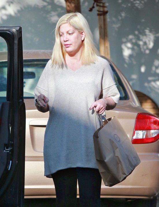 Tori Spelling wrociła do formy po 4. ciąży (FOTO)