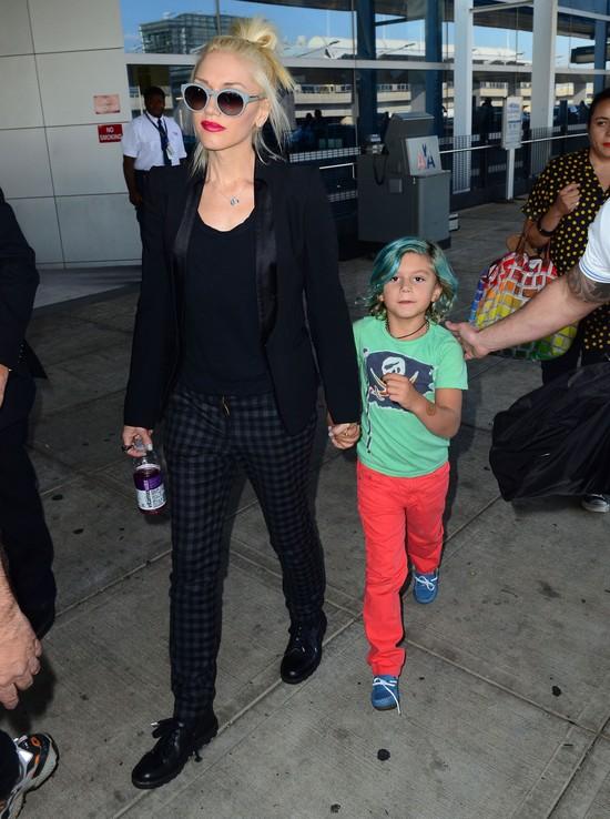 Czy ten chłopiec wyrośnie na małego fashionistę?