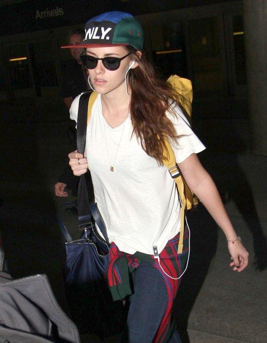 Kristen Stewart kupiła sobie nowe trampki i czapkę (FOTO)