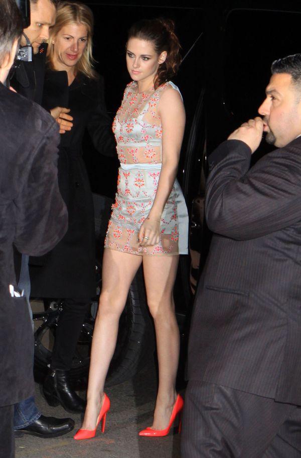 Kristen Stewart marzła na premierze On The Road (FOTO)