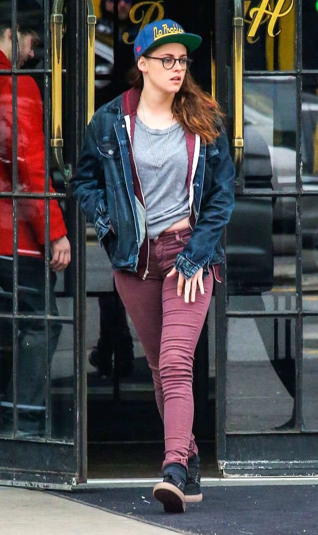 Kristen Stewart nie może spalić tłuszczyku (FOTO)