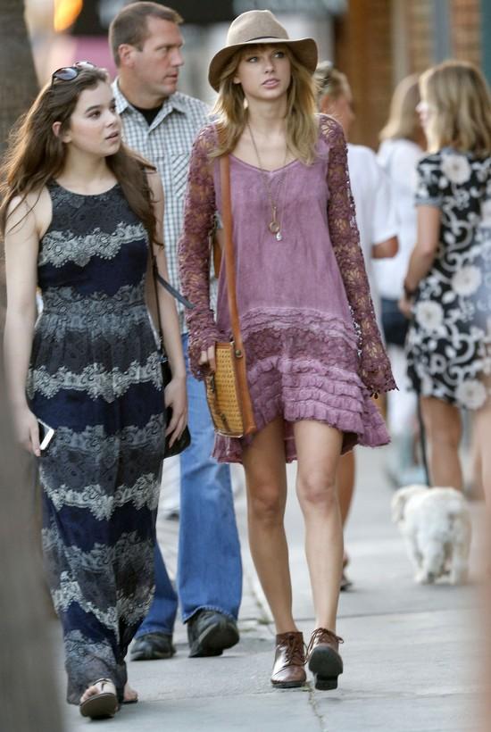 Przerwa w tournee: Taylor Swift idzie na zakupy (FOTO)